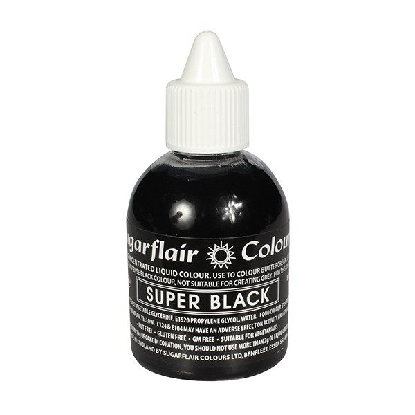 Sugarflair Super Black 60ml