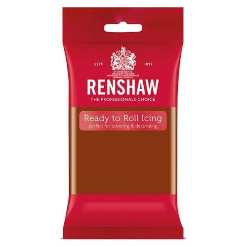 NEW** Renshaw Ready To Roll Icing - Dark Brown