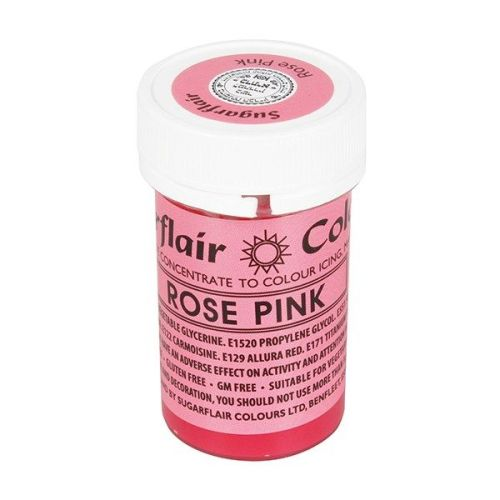 Paste Colours 25g - Rose Pink