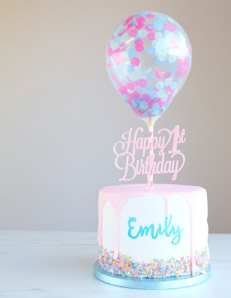 Confetti Cake Balloons