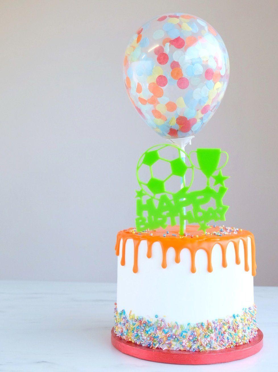 Confetti Cake Balloon Pack of 2 - Festival