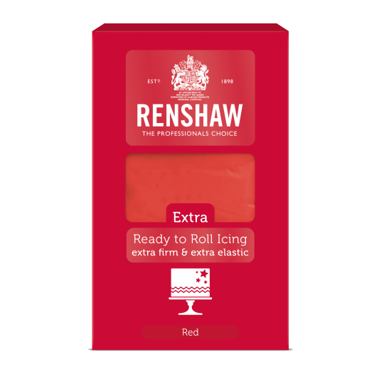 Renshaw Extra Readt to Roll Icing 1kg - Red