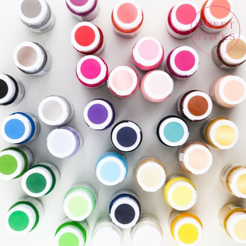 Sweet Sticks Edible Art Paint 15ml - Blue