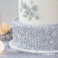 Karen Davies Mould - Sugar Snowflakes