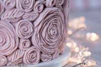 Ruffle Roses Mould by Karen Davies