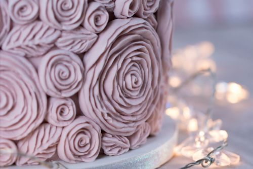Ruffle Roses Mould by Karen Davies