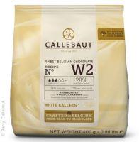Callebaut White Chocolate 400g