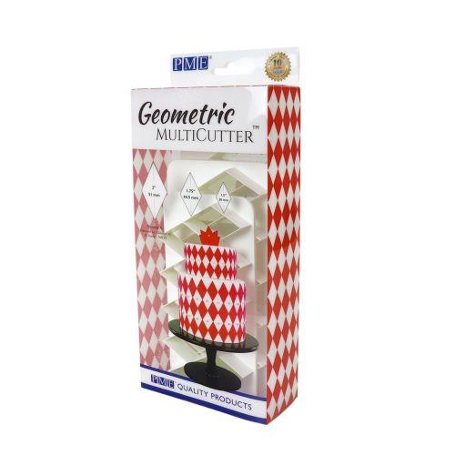 PME Geometric Multicutter - Diamonds Set of 3