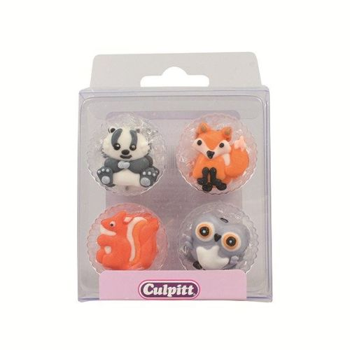 Woodland Friends Sugar Pipings - Pack of 12