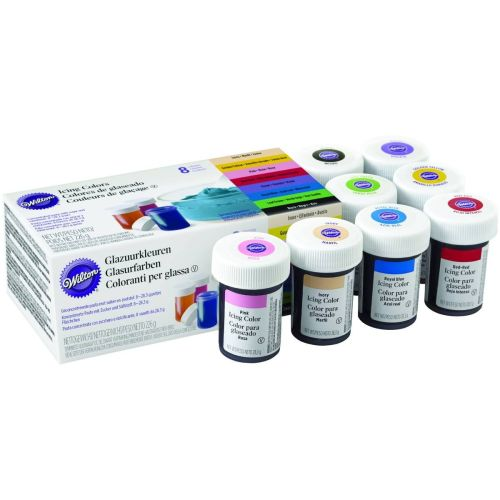 Gel Colours Set of 8 by Witon