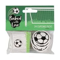 Baked with Love - Football Decorative Pics - Pack 24
