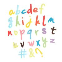 Cake Star Push Easy Cutters - SCRIPT LOWERCASE