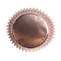 Rose Gold Cupcake Cases - Pack of 45