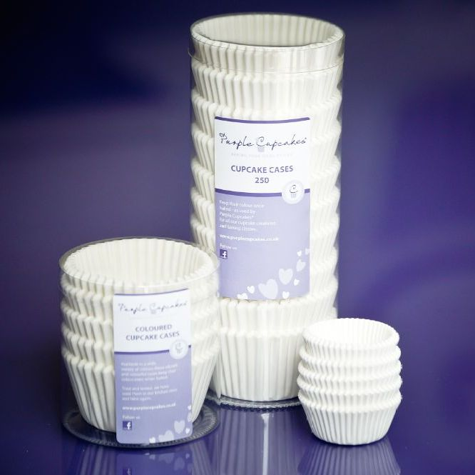 White Cupcake Cases