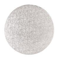 """Cake Drum - 12"""" Round Silver"""