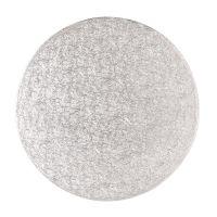 """Cake Drum - 15"""" Round Silver"""