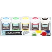Edible Food Colour Dust Set 1 - 5 Primary Colours