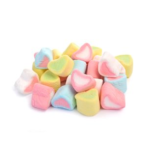 Marshmallow Heart Shape Pieces 500g Bag