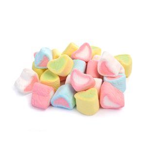 Marshmallow Heart Shape Pieces 500g Bag