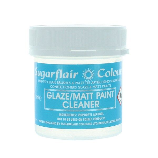 Sugarflair Glaze and Matt Paint Cleaner - 50ml