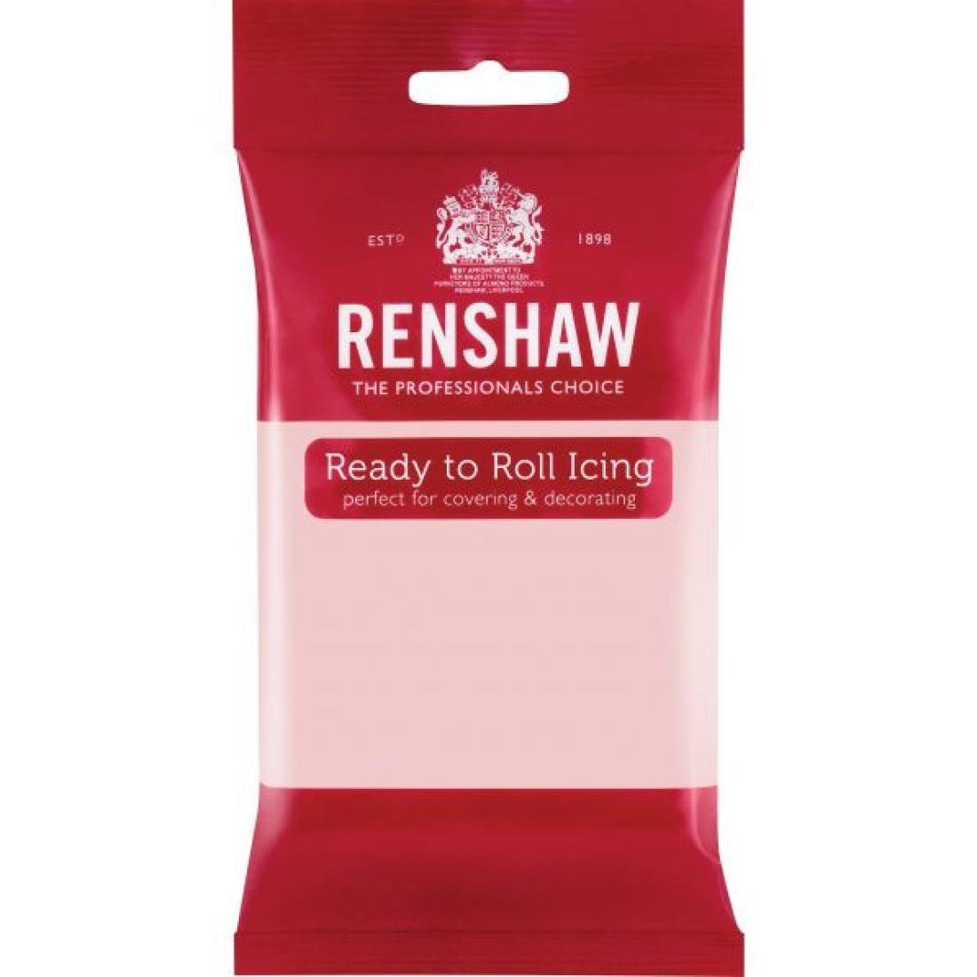 Renshaw Ready To Roll Icing - Baby Pink