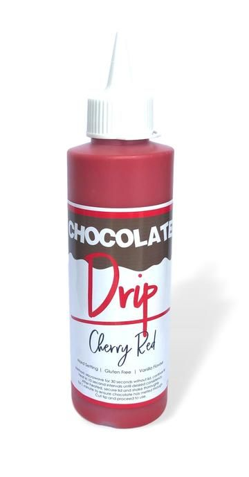 Chocolate Drip 250g - CHERRY RED