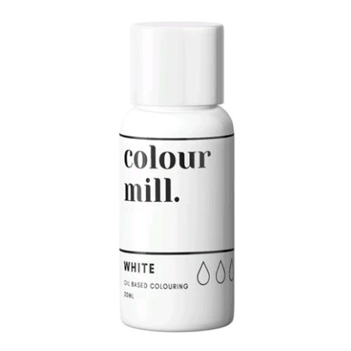 Colour Mill Oil Based Colour 20ml - WHITE