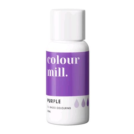 Colour Mill Oil Based Colour 20ml - PURPLE