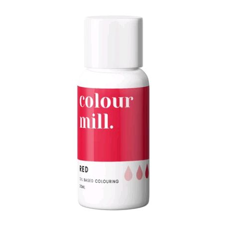 Colour Mill Oil Based Colour 20ml - RED