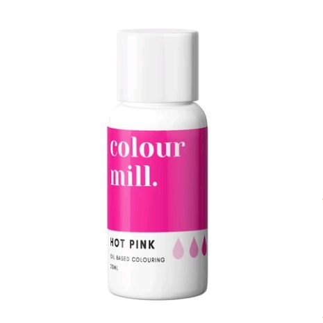 Colour Mill Oil Based Colour 20ml - HOT PINK