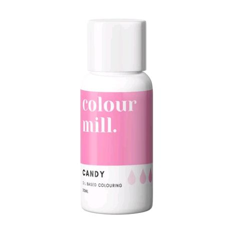 Colour Mill Oil Based Colour 20ml - CANDY PINK