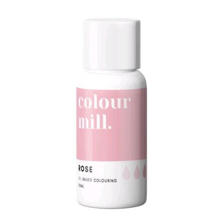 Colour Mill Oil Based Colour 20ml - ROSE PINK