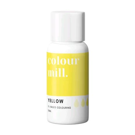 Colour Mill Oil Based Colour 20ml - YELLOW