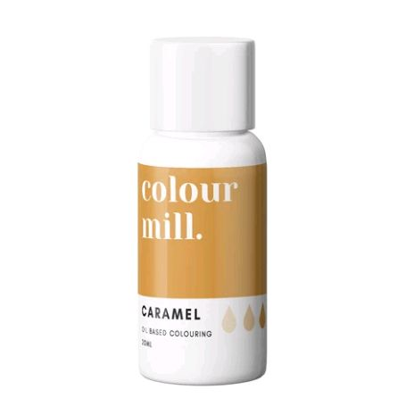 Colour Mill Oil Based Colour 20ml - CARAMEL