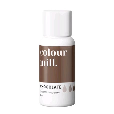 Colour Mill Oil Based Colour 20ml - CHOCOLATE