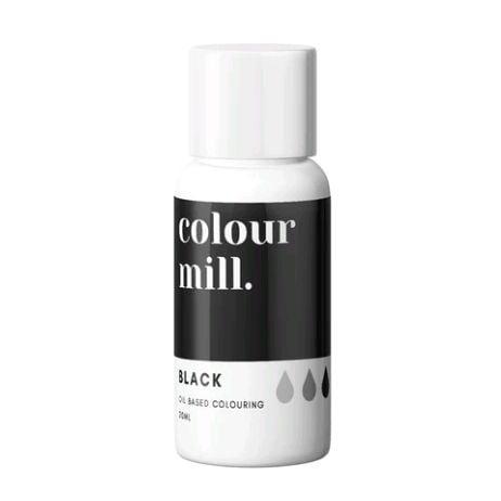 Colour Mill Oil Based Colour 20ml - BLACK
