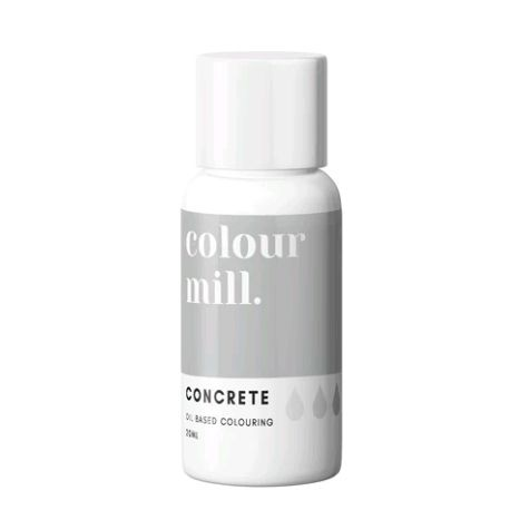 Colour Mill Oil Based Colour 20ml - CONCRETE