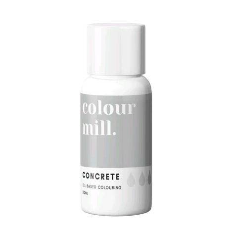 Colour Mill Oil Based Colour 20ml - CONCRETE
