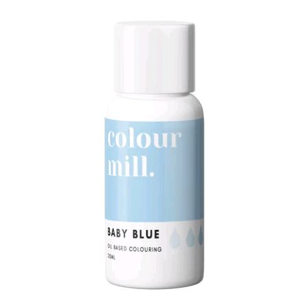 Colour Mill Oil Based Colour 20ml - BABY BLUE
