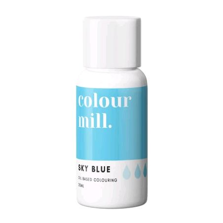 Colour Mill Oil Based Colour 20ml - SKY BLUE