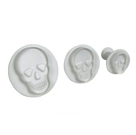 PME Cutter Set of 3 - Skull