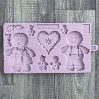 Karen Davies Mould - Cookie Mould Gingerbread