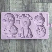 Karen Davies Mould - Cookie Mould Christmas