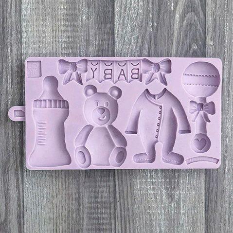 Karen Davies Mould - Cookie Baby Collection
