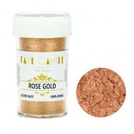 Faye Cahill Edible Lustre Dust 22ml - Blush Rose Gold