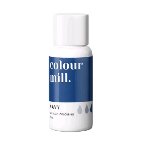 Colour Mill Oil Based Colour 20ml - NAVY BLUE