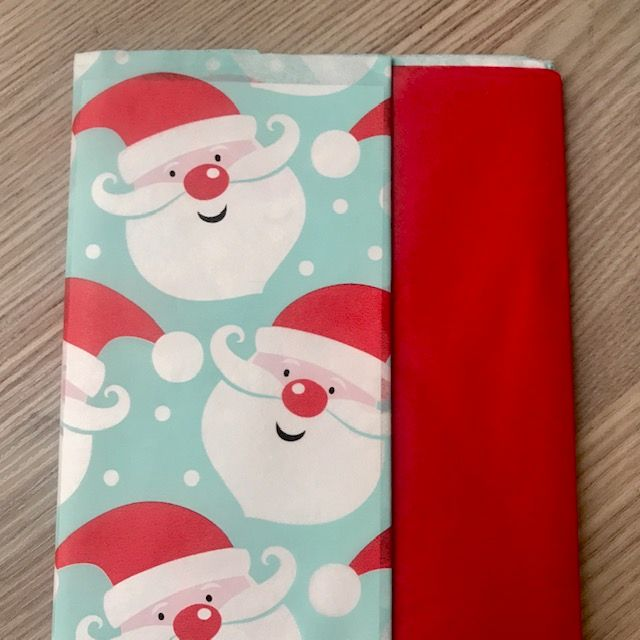 Tissue Paper Pack - Santa Father Christmas 10 Sheets 50cm x 70cm