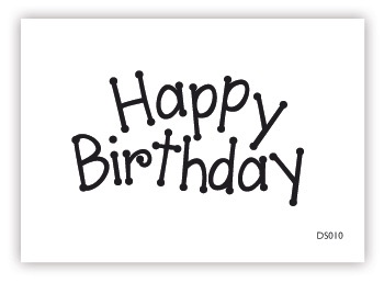 impressit™ Cake Stamps - HAPPY BIRTHDAY STAMPS