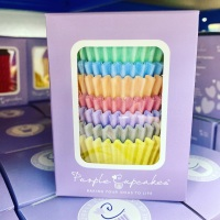 Cupcake Cases x 96 - Pastel Colours