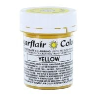 Sugarflair Chocolate Colouring 35g - YELLOW